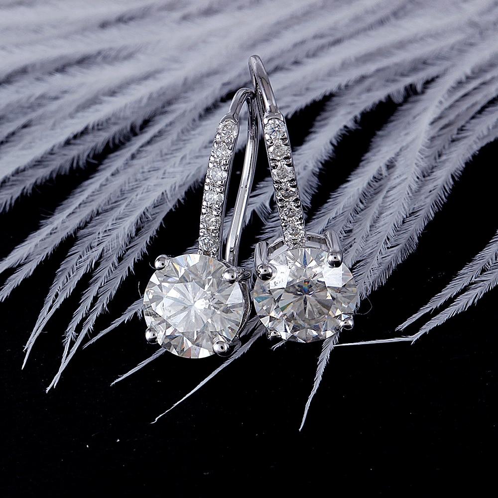 drop earring moissanite silver (3)