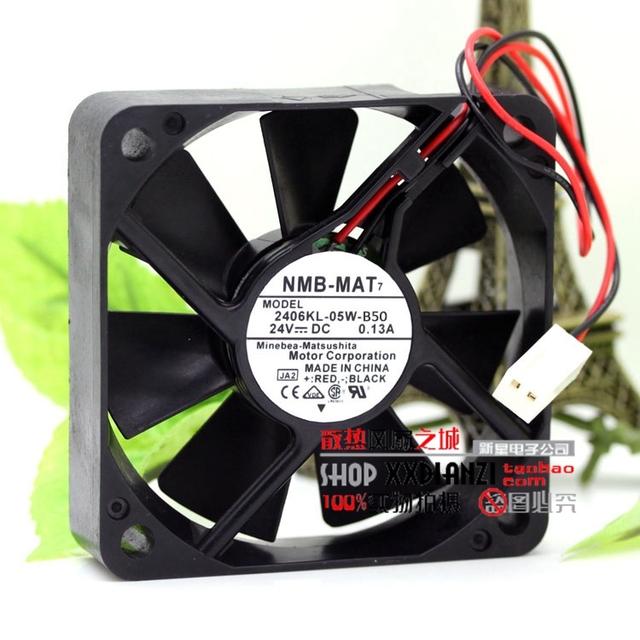 2406KL-05W-B50 6015 6 CM 0.13A 24 V pequeño motor inversor del ventilador de refrigeración