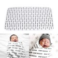 Baby Blanket Newborn Fleece Black Cross Kids Bedding Sofa Cobertores Mantas Bed Spread Bath Towels Baby Swaddle