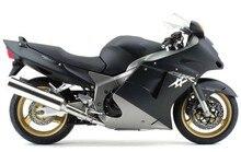 Hot Sales,For Honda CBR1100XX 96-97 Blackbird 1996-2007 CBR1100 XX Matte Black and Gray Motorcycle Fairings (Injection molding)