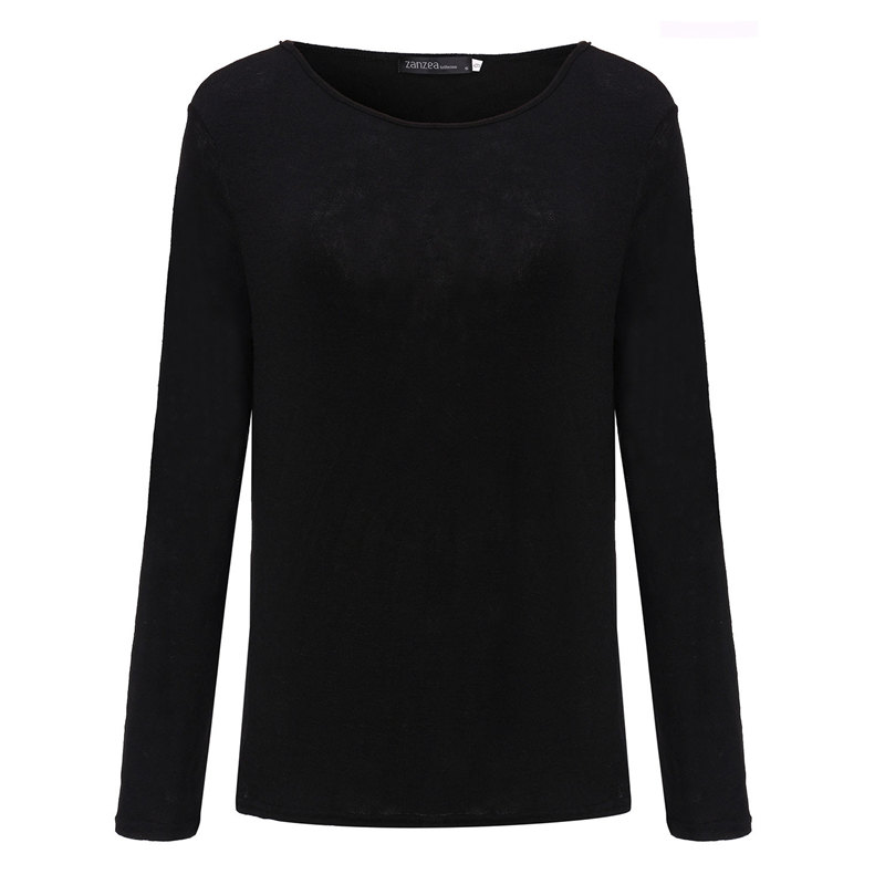 HTB1296PPpXXXXXKXpXXq6xXFXXX3 - New Spring Casual O Neck Long Sleeve Cotton Women T-Shirts