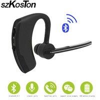 Bluetooth Stereo Headset Music Earphone 4 1 Earhook Headphone Mini Wireless Handfree Universal For Samsung IPhone