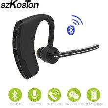 Bluetooth Stereo Headset Music Earphone 4.1 Earhook Headphone Mini Wireless Handfree Universal for Samsung iPhone HTC Xiaomi