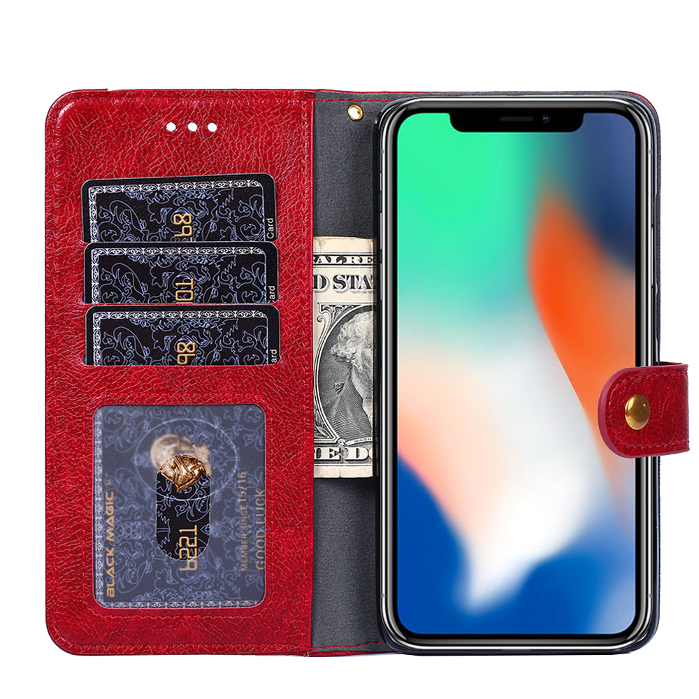 Redmi Note 7 Case Luxury PU Cover Flip Wallet Phone Case For Xiaomi Redmi 7 pro Back Cover For Xiaomi Redmi 7 Card Holder in Wallet Cases from Cellphones Telecommunications