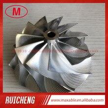 HX40  11+0 blades 66.65/84.00mm  high performance Turbocharger Billet/milling/Aluminum 2618 compressor wheel for racing