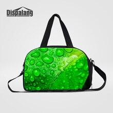 Dispalang Women's Travel Bags Shoulder Duffle Bags Flower Printed Weekend Carry On Luggage Handbags For Teens Girls Duffel Totes