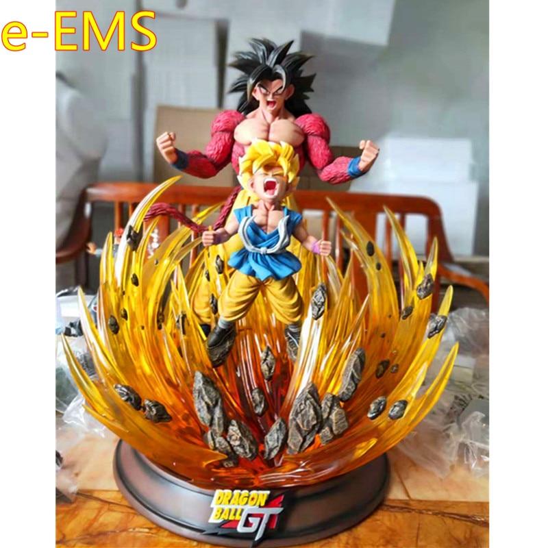 Dragon Ball GK 1/4 Super Saiyan Strongest Transformation Son Goku Resin Statue Action Figure Collection Model Toy G2396