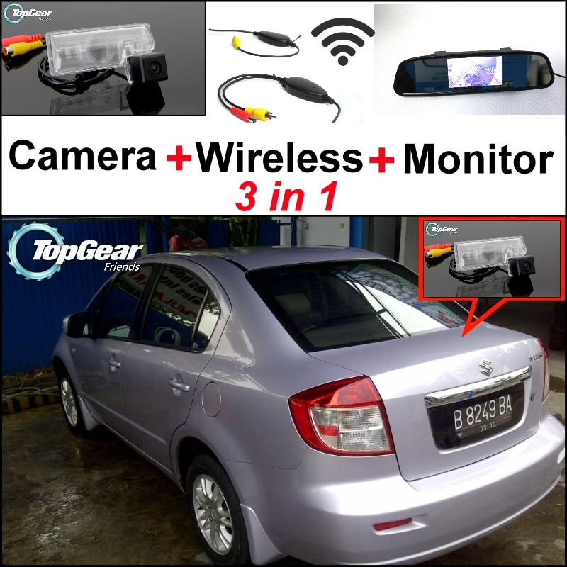 Neo Baleno: 3 In1 Special Rear View Camera + Wireless Receiver