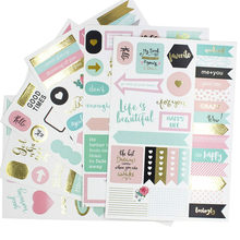 YPP CRAFT Life Is Beautiful Stickers Set for Scrapbooking Happy Planner/Card Making/Journaling Project(China)
