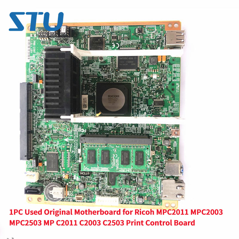 1PC Used Original Motherboard For Ricoh MPC2011 MPC2003 MPC2503 MP C2011 C2003 C2503 Main Board Control Board