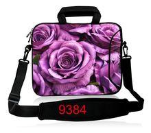 Flower Laptop computer Shoulder Bag Carry Sleeve Case Neoprene Defend Cowl For 10 12 13 14.1 15 17 Pill Pocket book 15.6 13.three 10.6 10.1″