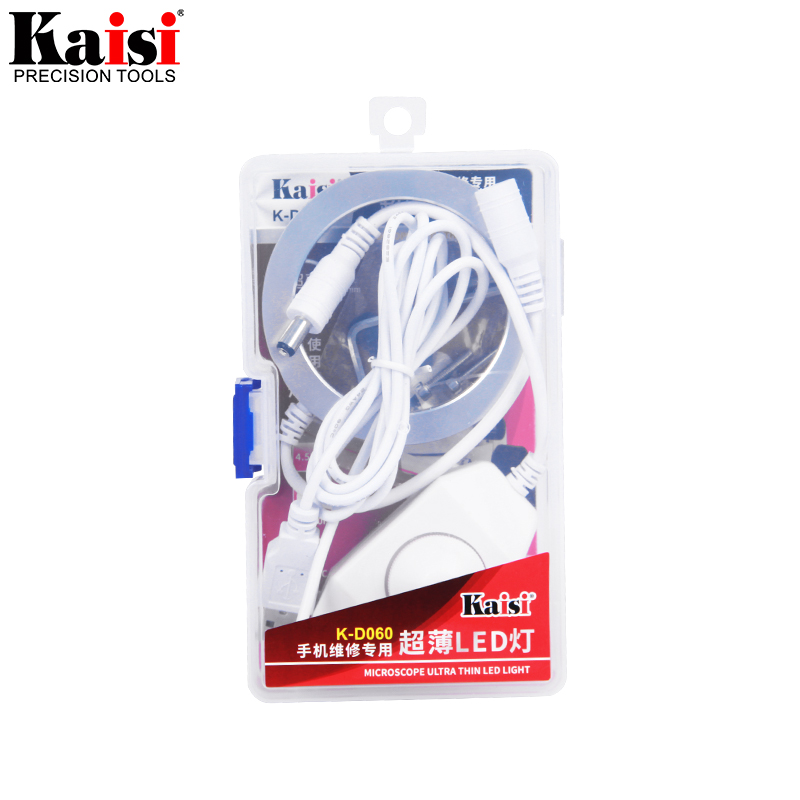 Image 5 - Kaisi Ultrathin 60 LED Adjustable Ring Light illuminator Lamp For STEREO ZOOM Microscope USB Plug-in Microscopes from Tools