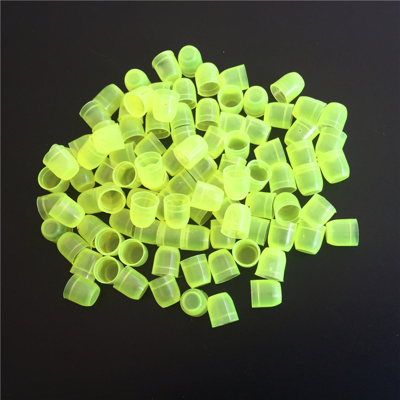 100 Pcs Beekeeping Tools Green Queen Cup Beekeeper Beekeeping Tool Beehive Accessories Bee King Cultivating Plastic Cup
