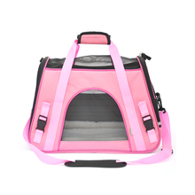 Pet portable bag fashion dog pack cat pet breathable window backpack bags handbag