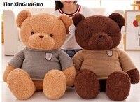Cartoon Lovely Bear Plush Toy Dressed Sweater Bear Large 65cm Soft Doll Throw Pillow Valentine S
