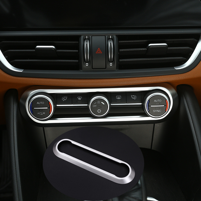 For Alfa Romeo Giulia Stelvio 2017 Car Styling Abs Chrome