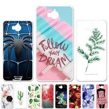 Silicone Phone Case For Huawei Y5 2017 Y5 III Y5 3 Huawei Y6 2017 Case MYA-L22 MYA-L03 MYA-L23 Captain American Bag Shell Covers все цены