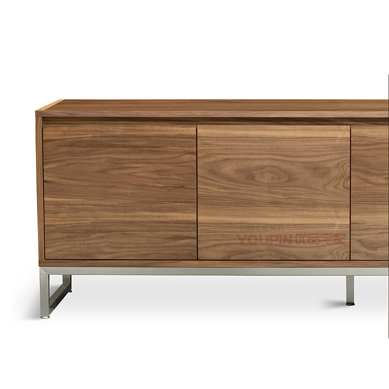 modern storage cabinets. scandinavian modern style sideboard walnut veneer storage cabinets simple and stylish new designer home furniture