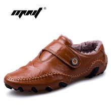 Купить с кэшбэком Fashion British Style Men Causal Shoes Sneakers Genuine Leather Men Shoes Four Style Outdoor Flats Shoes Zapatos Hombre