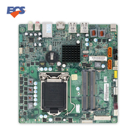 Para ECS H61H-G11 Original Utilizado Escritorio Mini-itx Motherboard H61 LGA 1155 DDR3 SATA2