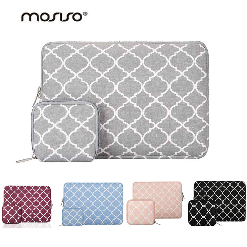 Mosiso 11.6 13.3 14 15.6 inch Laptop Sleeve Bag Pouch Case for Macbook Air Pro 13 15 Asus Acer Dell Mac Case Accessories Women image
