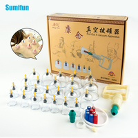 24 Pcs Set Cupping Device Massage Cans Massager Health Monitors Product Cans Opener Pull Vacuum Cupping