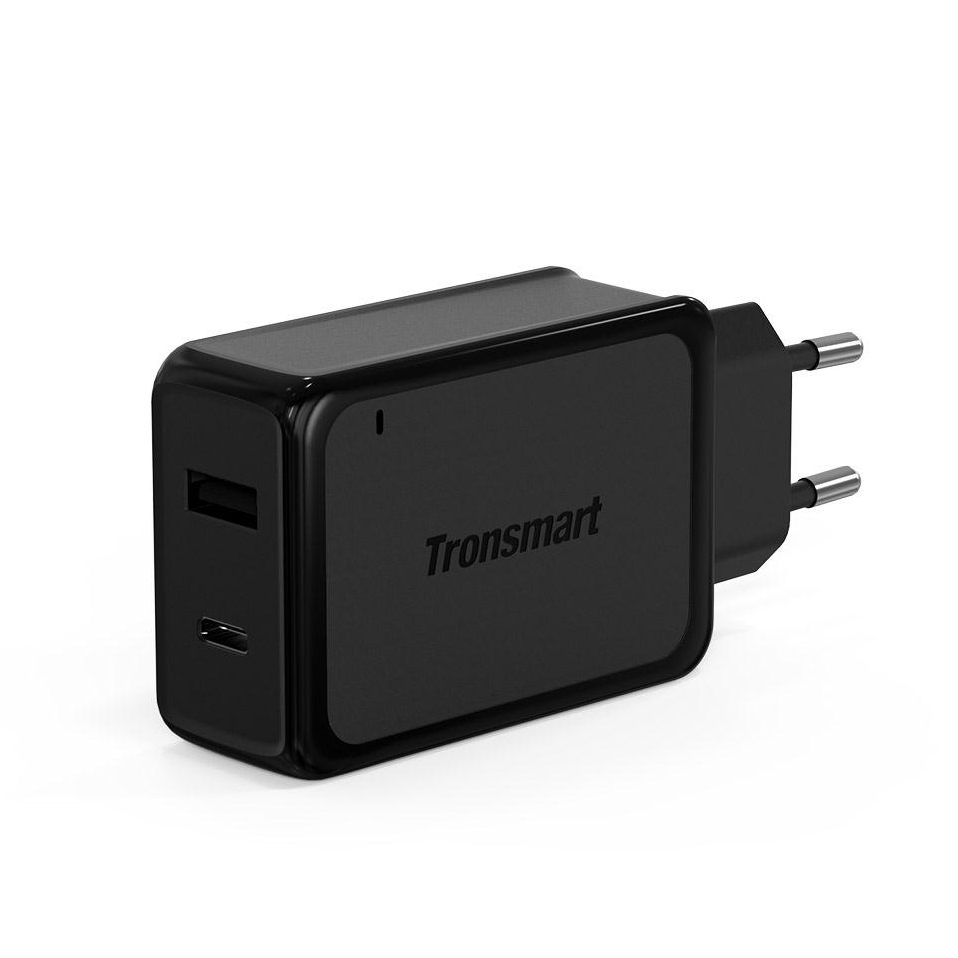 Tronsmart W2PTE USB Type C Quick Charge 3.0 USB Charger with USB VoltiQ for Xiaomi for LG G5 Fast Phone Charger Adapter EU Plug 6