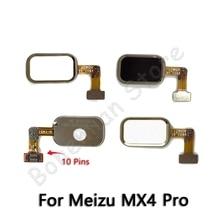 Back Home Button Fingerprint Flex Cable For Meizu MX4 MX 4 P