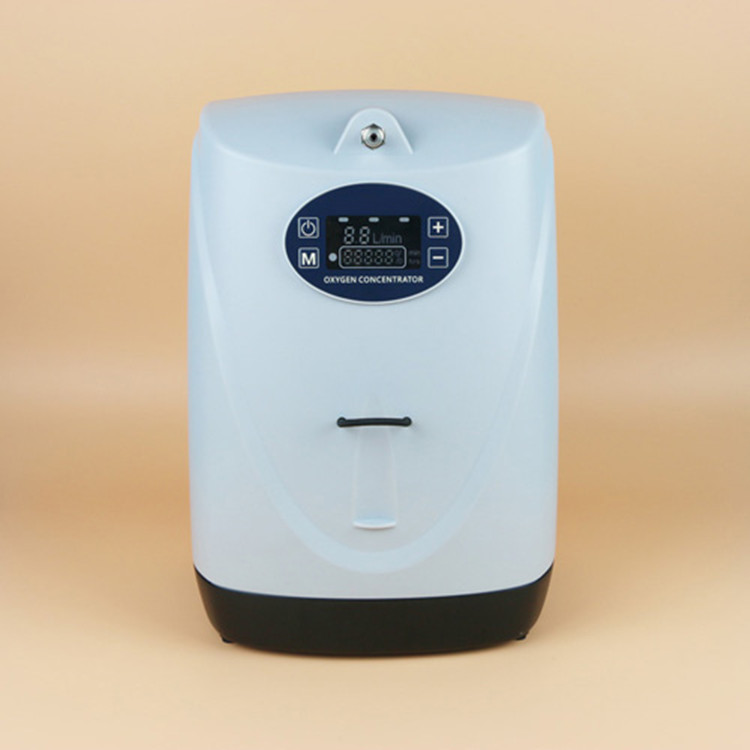 Infrared Romote Control 5L Oxygen Concentrator Lithium Battery Oxygen Genenrator 1 Hours Running Health Care Medical O2 Machine