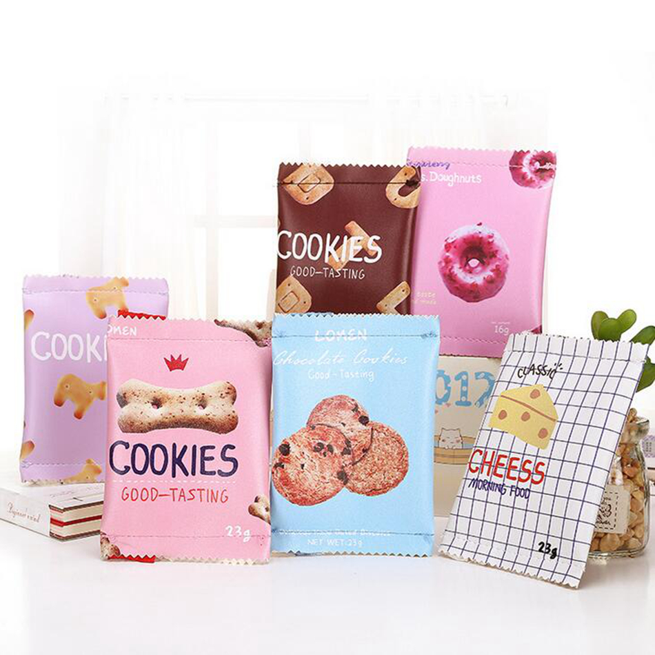 XZHJT Creative Candy Snacks Coin Purse Women PU Leather Zipper Change Purse Wallet Holders Mini Money Bag For Kids Girl Gift pacgoth creative pvc waterproof cute carton candy color purse dessert donuts summer sweet hearts zipper coin purses money bag