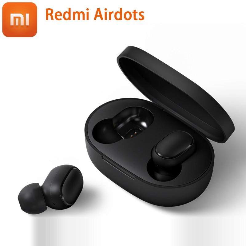 Instock Xiaomi Redmi Airdots Xiaomi Wireless earphone Voice control Bluetooth 5.0 Noise reduction Tap Control