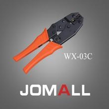 Купить с кэшбэком WX-03C crimping tool crimping plier 2 multi tool tools hands Ratchet Crimping Plier (European Style)