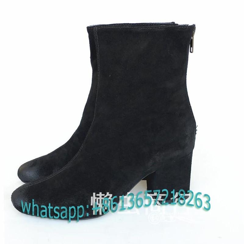 Popular Chunky Heel Booties-Buy Cheap Chunky Heel Booties lots ...
