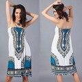 Новый 2106 горячая дизайн эластичный Dashiki юбка платье африканский традиционный печать одежды африканских Dashiki платья