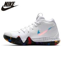 d81f430468165 Nike KYRIE 4 EP Irving 4th generación zapatos de baloncesto de los hombres  blanco transpirable antideslizante resistente a la ab.