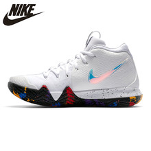 get cheap b2ade f69a4 Nike KYRIE 4 EP Irving 4th Generation Men s Basketball Shoes, White,  Breathable, Non-Slip, Abrasion Resistant 943807 104