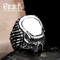 Beier new store 316L Stainless Steel ring top quality man movie style predator  fashion Jewelry BR8-217