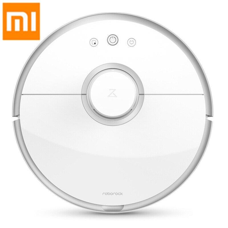 Международный Сяо mi Roborock/s51 2018 Новый 2 в 1 Xiaomi mi робот пылесос 2 версия 2 мокрый перетащите смарт mop планируется %