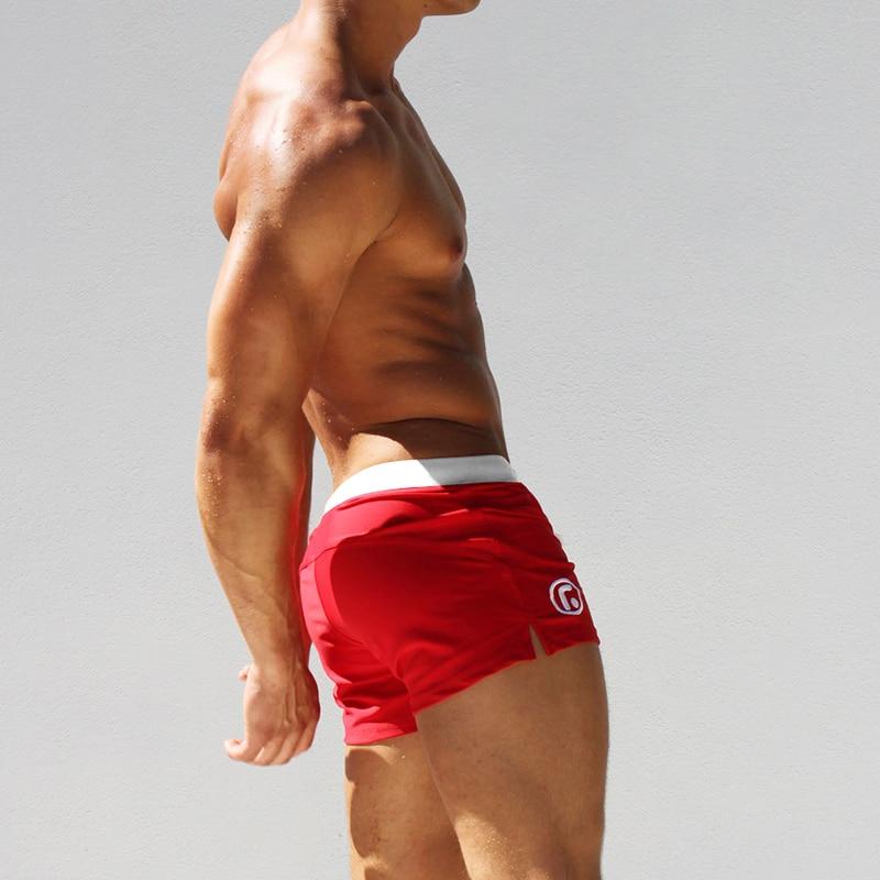 ad38454733 AQUX Brand men's Swim low rise swimwear sexy low personality male ...