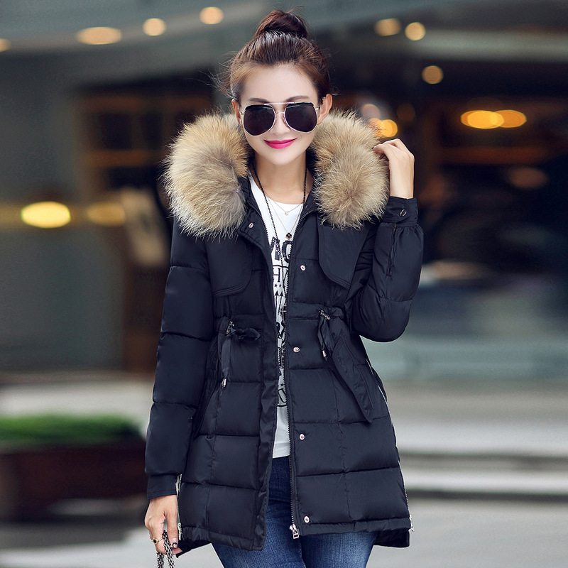 Women's Down Jackets with Fur Hood