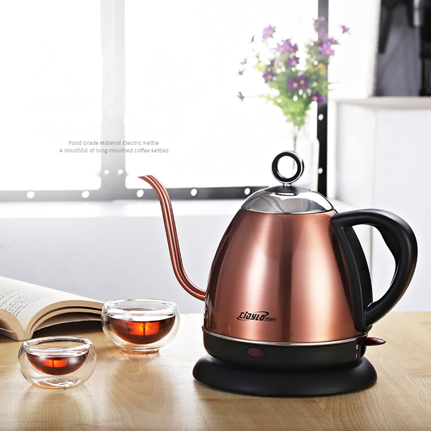 Household mini Electric Kettle 220v 1000w electric kettle 304 Food grade stainless steel electric kettle