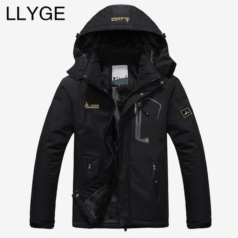 Men Padded Winter Hooded Jacket Large Size Thick Windproof Warm   Parkas   Coat Men 2019 Casual Warm Jacket Windbreaker Outwear 6XL