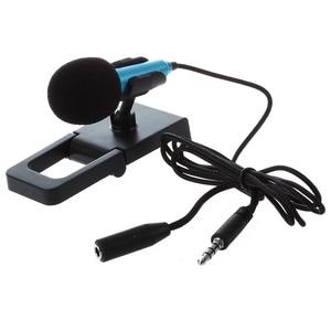 Image 3 - Mini hand mikrofon für sprach aufnahme, Internet chat auf smartphone, notebook oder tablet, mit 3,5mm mic kabel und mic stand