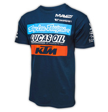 KTM Racing team cloth Off-road motorcycle riding clothes wear short sleeved T-shirt / Knight racing surrender speed