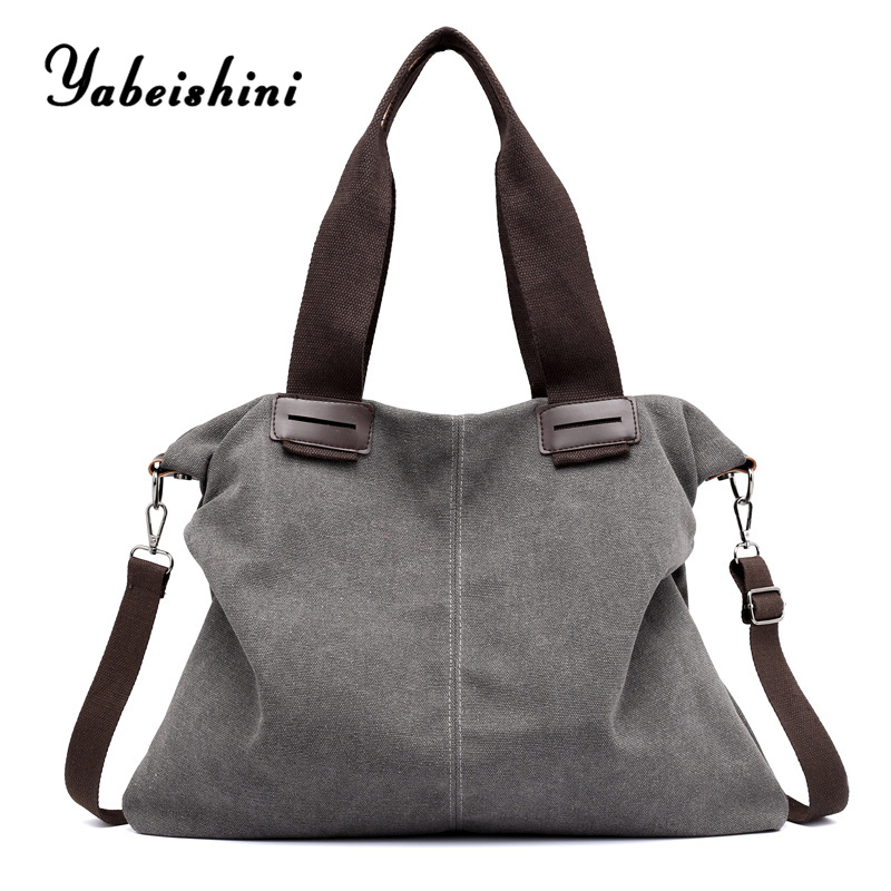 reusable ladies Tote bags shopping bag bolsos mujer de marca famosa 2019 women canvas women bag over shoulder sac main  femme
