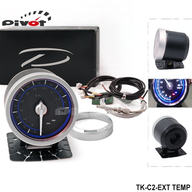 PIVOT --DF Link Meter ADVANCE C2 Exhaust Temperature Gauge Blue TK-C2-EXT TEMP