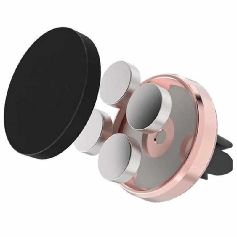 Jusfyu magnético suporte do telefone carro ventilação de ar montagem universal móvel smartphone suporte ímã folha para iphone xs max samsung huawei