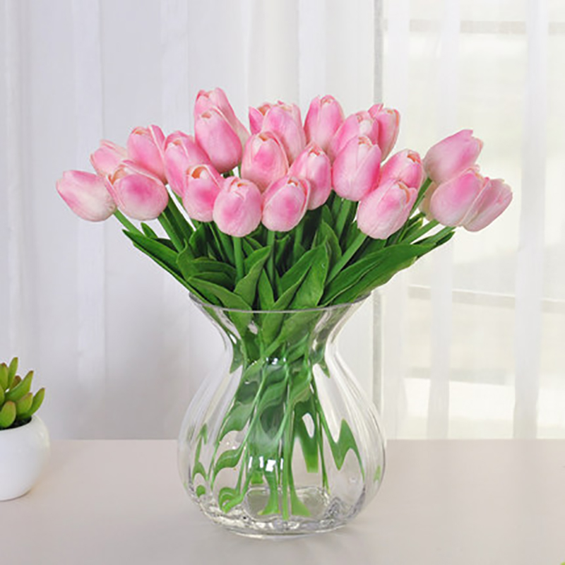 6pcs Tulip Multi Colors Artificial Flower Bouquets Home Wedding ...