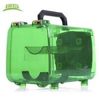 BRS Ngoài Trời Cường Độ Cao Polycarbonate Dã Ngoại Cắm Trại Travel Điện Tank Gas Đơn Vị Bin Điện Gas Unit cho Camping Bếp Lò brs-q5