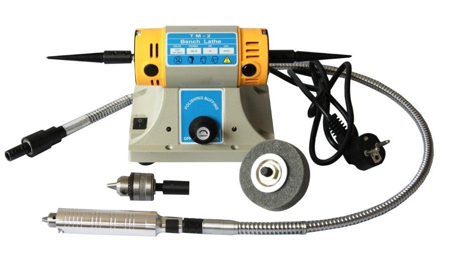 TM 2 Benchtop Jewelry Polisher 1/6HP Variable Speed Polishing Motor